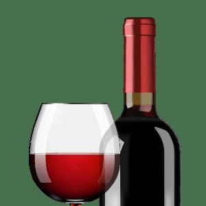 Červené vína