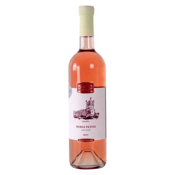 Regionálne víno: Merle Petite rosé (Merlot), 2017, Suché, Promitor Vinorum | regioWine