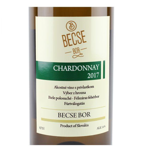 Chardonnay, 2017, suché