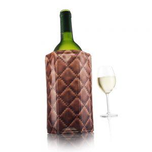 Chladič na víno manžetový Leather, Vacu Vin | regioWine