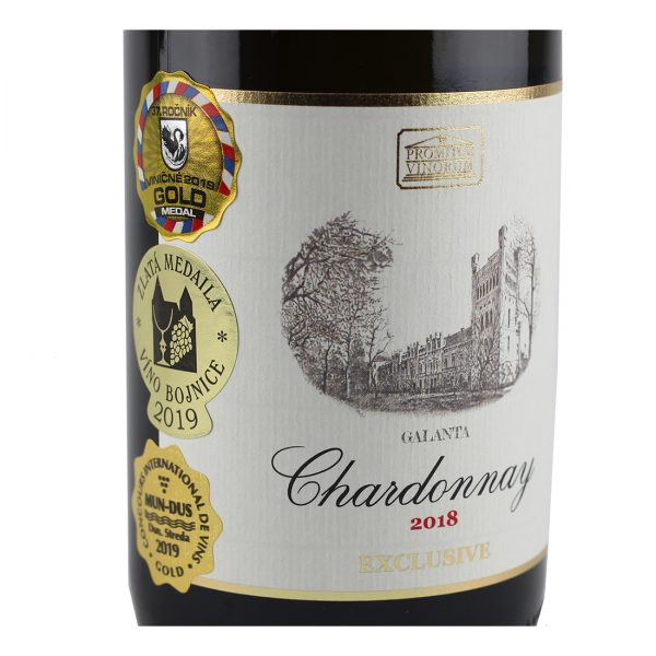 Chardonnay, 2018, Suché, Promitor Vinorum | regioWine
