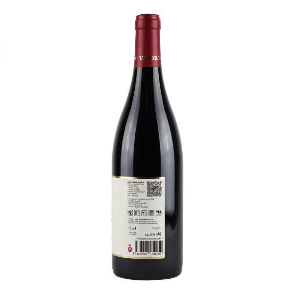 Pinot Noir (Rulandské Modré), 2016, Suché, Promitor Vinorum | regioWine
