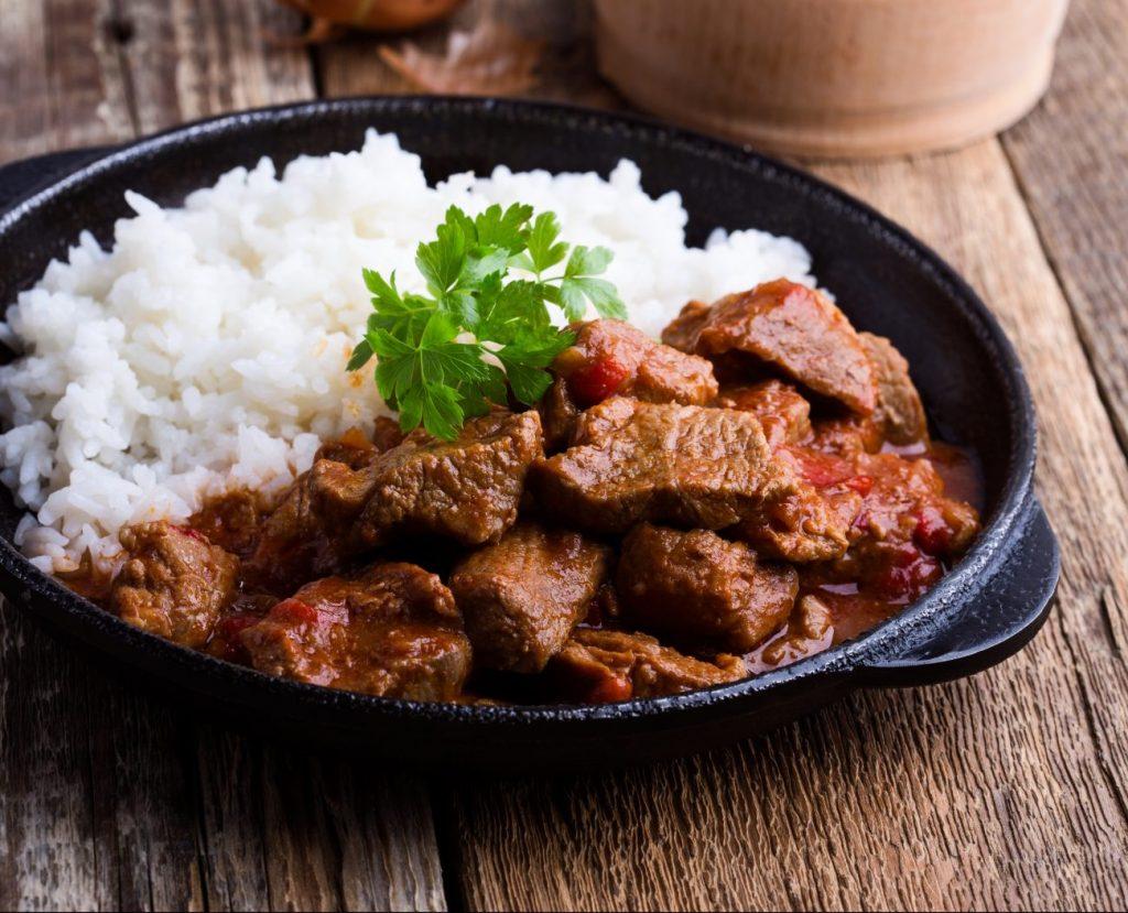 Recept: Maďarský tokáň z hovädzieho mäsa