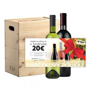 Darčekový poukaz v hodnote 20€ | regioWine