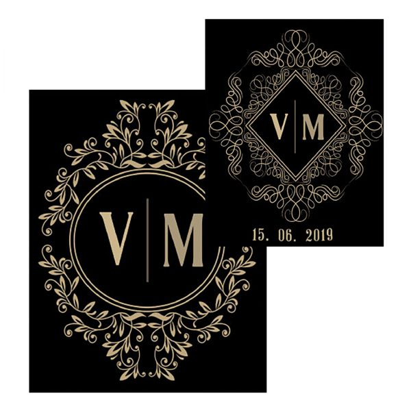 Svadobná etiketa - vzor 12, Promitor Vinorum | regioWine