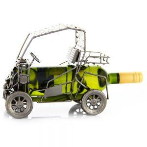 Kovový stojan na víno s motívom Golfový vozík, Promitor Vinorum | regioWine