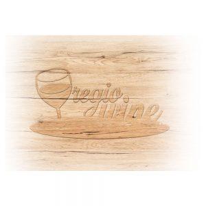 Gravírovanie na darčekovú kazetu, veľkosť 4x2 cm, Promitor Vinorum | regioWine