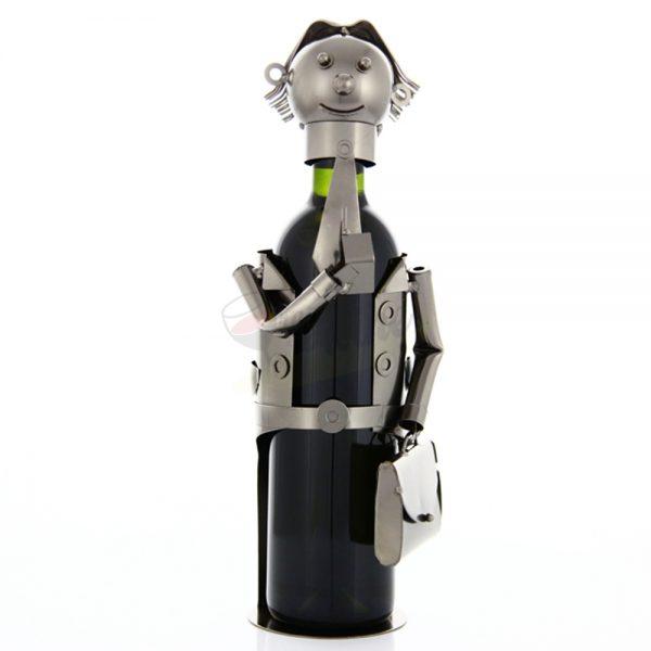 Kovový stojan na víno s motívom Predajca, Promitor Vinorum | regioWine