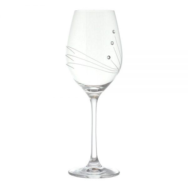 Pohár na víno Celebration Swarowski, 360 ml, RONA | regioWine